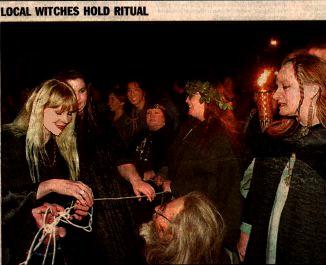 Asheville's First Public Wiccan Samhain Ritual