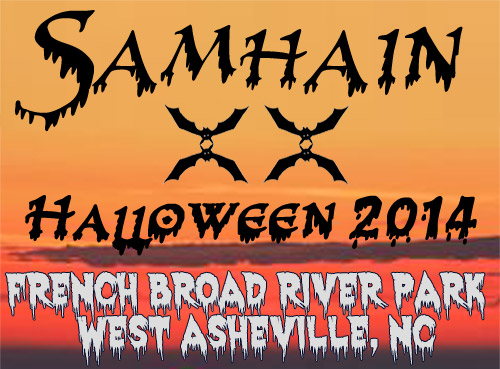 Samhain XX Public Ritual: Halloween 2014 in French Broad River Park, West Asheville, NC